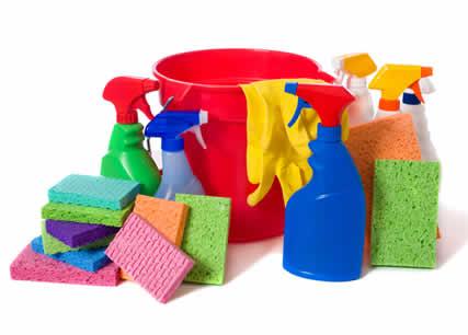 städmaterial samt rengöringsprodukter ingår i priserna