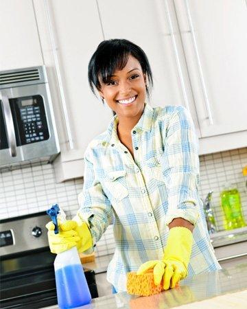 köksrengöring - rengör köket rätt. Spara pengar och miljön